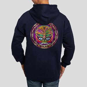 Mardi Gras Queen 8 Hoodie (Dark)