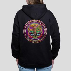 Mardi Gras Queen 8 Hooded Sweatshirt