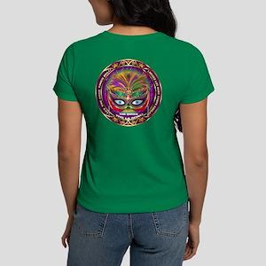 Mardi Gras Queen 8 Women's Dark T-Shirt