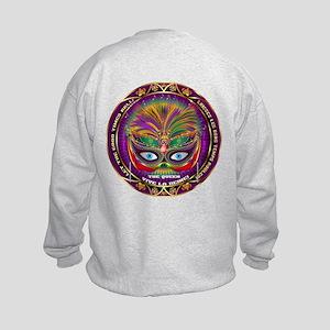 Mardi Gras Queen 8 Kids Sweatshirt