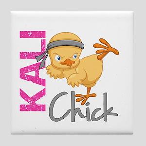 Kali Chick 2 Tile Coaster
