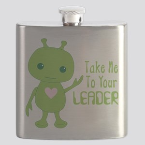 Take Me To Your LEADER Flask