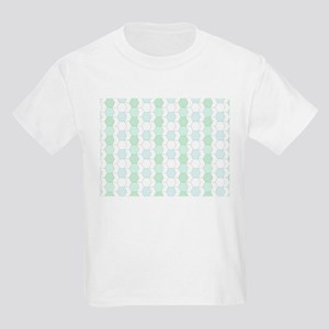allover graphic soft aqua T-Shirt
