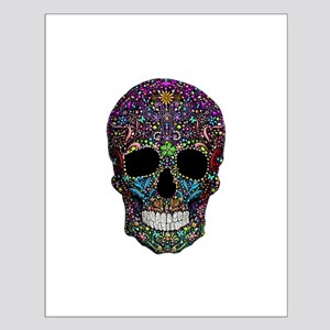 Colorskull on Black Posters
