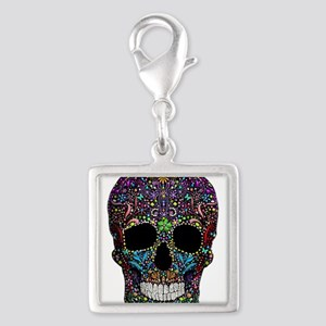Colorskull on Black Charms
