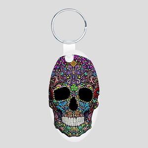 Colorskull on Black Keychains