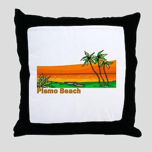 Pismo Beach, California Throw Pillow