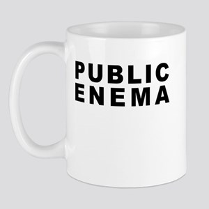 Public Enema Glowing Text Mug
