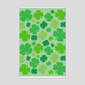 Lucky Green Clover Poster Print (Mini)