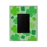 Four leaf clovers Picture Frames