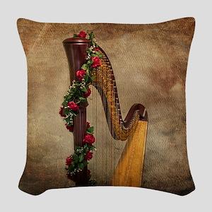 Harp Woven Throw Pillow