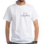 Simply Fencing White T-Shirt