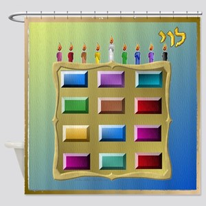 12 Tribes Israel Levi Shower Curtain