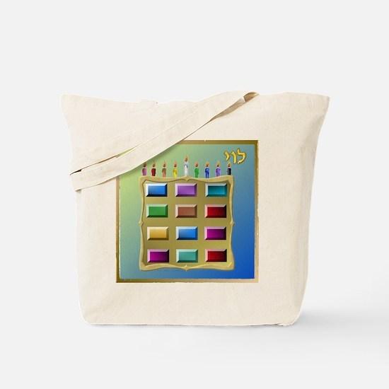 12 Tribes Israel Levi Tote Bag