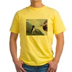 Creation of a Boston Ter Yellow T-Shirt