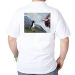 Creation of a Boston Ter Golf Shirt