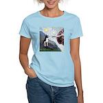 Creation of a Boston Ter Women's Light T-Shirt