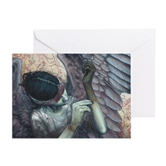 Make-Shift Angel XI: The Artist Greeting Cards