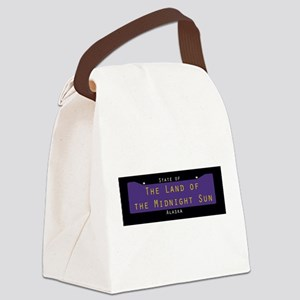 Alaska Nickname #2 Canvas Lunch Bag