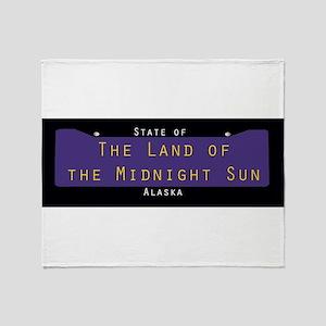 Alaska Nickname #2 Throw Blanket