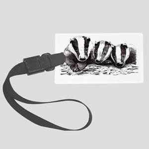 Badgers Large Luggage Tag