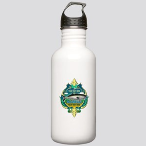 Personalized Bluefish Trophy Water Bottle