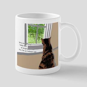 Indoor cat Mugs