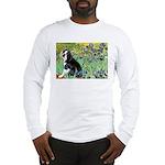 Irises & Boston Ter Long Sleeve T-Shirt