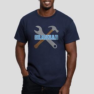 Grandad (tool design) Men's Fitted T-Shirt (dark)