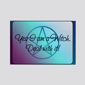 Yes I am a Witch. Deal with it! Magnets