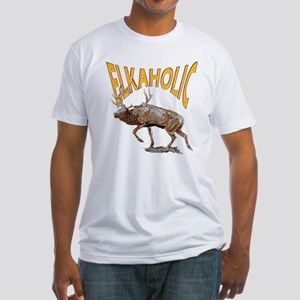 Elkaholic Fitted T-Shirt