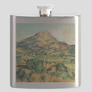 Mont Sainte-Victoire by Cezanne Flask