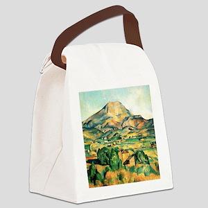 Mont Sainte-Victoire by Cezanne Canvas Lunch Bag