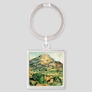 Mont Sainte-Victoire by Cezanne Keychains