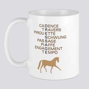 dressage speak Mug