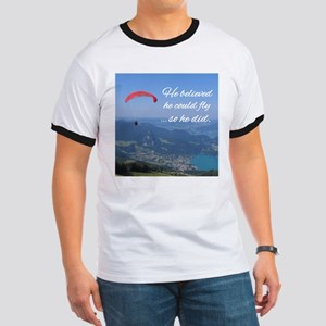 He believed he could fly so he did T-Shirt