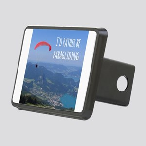 Id Rather Be Paragliding Hitch Cover