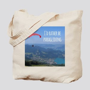 Id Rather Be Paragliding Tote Bag