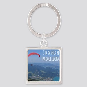 Id Rather Be Paragliding Keychains