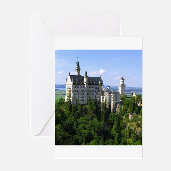Neuschwanstein Castle Greeting Cards