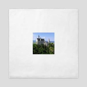 Neuschwanstein Castle Queen Duvet