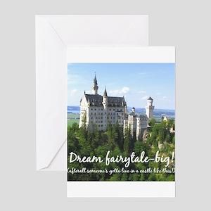 Dream Fairytale Big Greeting Cards