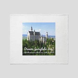 Dream Fairytale Big Throw Blanket