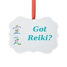 Reiki Picture Ornament