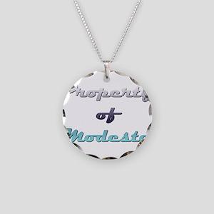 Property Of Modesto Male Necklace