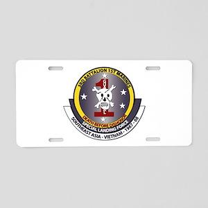SSI - 3rd Battalion - 1st Marines USMC Aluminum Li