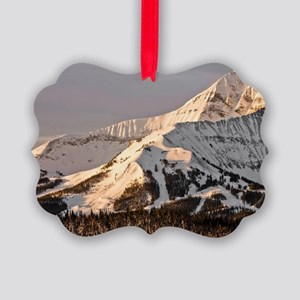 The Lonely Mountain Picture Ornament
