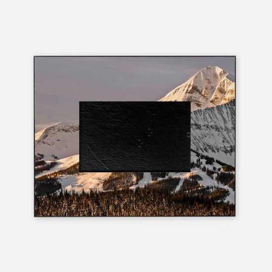 The Lonely Mountain Picture Frame