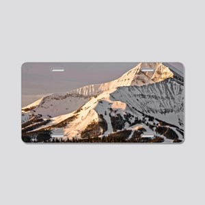 The Lonely Mountain Aluminum License Plate