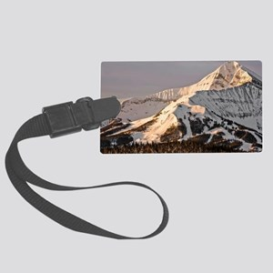 The Lonely Mountain Large Luggage Tag